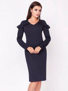 Naoko Dámské šaty AT123_NAVY
