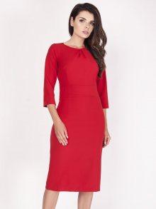 Naoko Dámské šaty AT103_RED