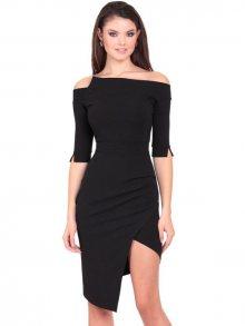 Eidos Dámské šaty DRESS 126 JENIFER CLASSIC BLACK