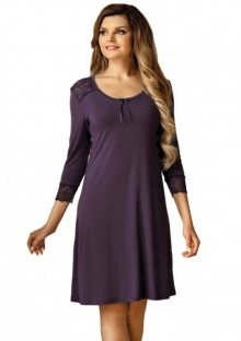 Noční košilka Babella Clara L Imperial Purple