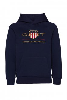 MIKINA GANT ARCHIVE SHIELD HOODIE