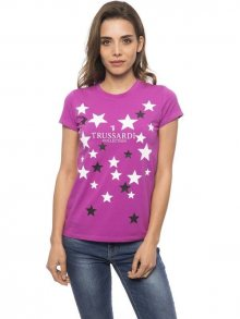 Trussardi Collection Dámské tričko D34TRC1040_Fuxia