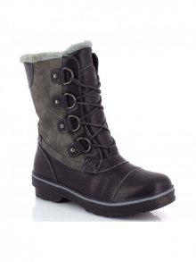Kimberfeel Dámské kotníčkové boty SYLVIE_BLACK