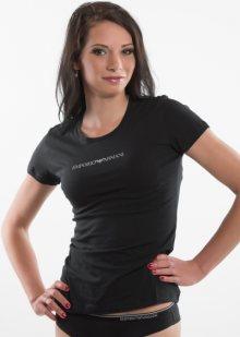 Dámské tričko Emporio Armani 163320 CC317 černá M Černá