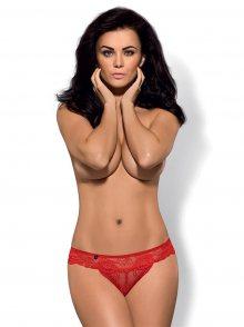 Kalhotky Obsessive Secred panties L/XL Červená