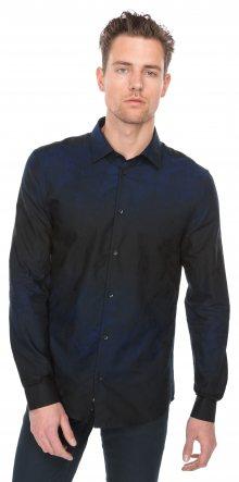 Košile Versace Collection | Černá Modrá | Pánské | 41