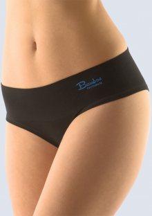 Bambusové kalhotky Gina 04022 L/XL Černá