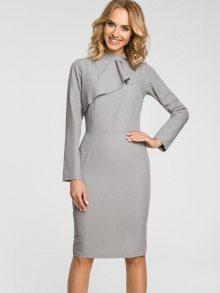Made of Emotion Dámské šaty M325_grey