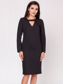 Naoko Dámské šaty AT135_BLACK\n\n