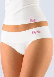 Bambusové kalhotky Gina 04022 Bílá