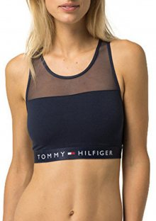 Dámská podprsenka Tommy Hilfiger Bralette UW0UW00012 L Bílá