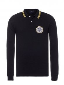 Jack Williams Pánské polo tričko JW0045MLP _BLACK-W/YELLOW STRIPE\n					\n