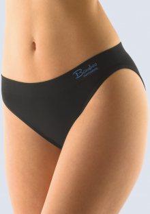 Bambusové kalhotky Gina 00029 L/XL Černá