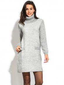 William de Faye Dámské šaty 6509 - WF337 FLANELLE/NATUREL