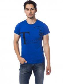 Trussardi Collection Pánské tričko M5 CODIGORO_AVIO