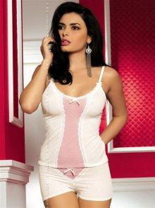 Dámská souprava Obsessive Blush top+shorts S L/XL Originál