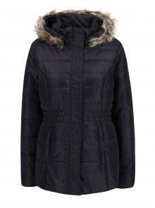 Černo-šedá dámská zimní voděodolná prošívaná bunda s kapucí LOAP Tamda