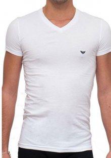 Pánské tričko Emporio Armani 111512 CC717 bílá L Bílá