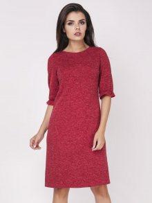Foggy Dámské šaty FG110_RED