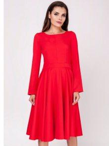 Naoko Dámské šaty AT138_RED