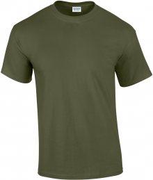 Tričko Gildan Ultra - Vojenská zelená S