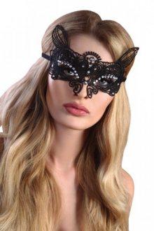Maska na oči LivCo Corsetti Mask Black Model 6 Univerzální černá