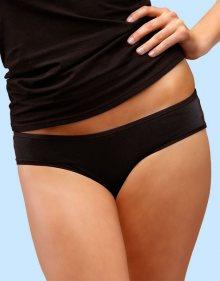 Dámské kalhotky Gina 14046 s Bambusovým vláknem Gina M/L Bílá