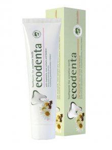 Ecodenta Zubní pasta pro citlivé zuby s heřmánkem, hřebíčkem a Kalidentem, 100 ml\n\n