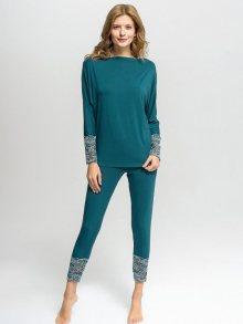 Vanilla Dámské pyžamo B40-62_BOTTLEGREEN\n\n