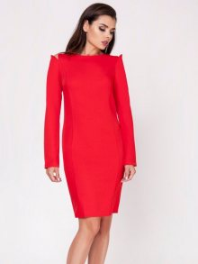 Naoko Dámské šaty AT128_RED