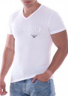 Pánské tričko Emporio Armani 110810 CC716 L Bílá