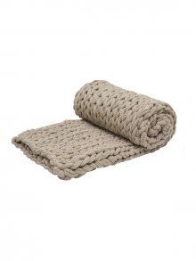 PANDORA HOME Ručně pletená deka 70 x 100 cm\n\n