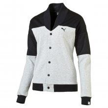 Puma Style Rebel Jacket W šedá L