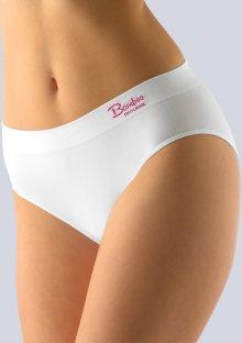 Bambusové kalhotky Gina 00028 M/L Bílá