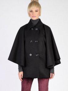 Carla by Rozarancio Dámský dvouřadý kabát CR18F P3153_BLACK\n\n