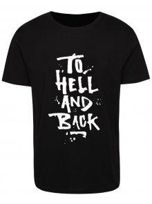 Černé pánské tričko s nápisem ZOOT Originál To Hell