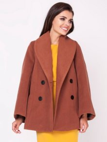 Naoko Dámský kabát AT125_BROWN\n\n