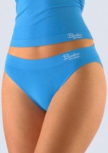 Bambusové kalhotky Gina 00029 L/XL Modrá
