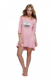 Sensis Maya Noční košile L/XL Růžový/vzor