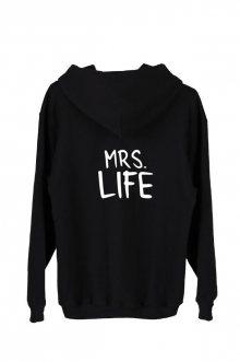 Mikina Oversize s kapucí Mrs. Life