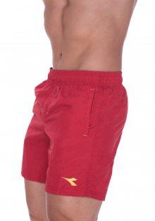 Pánské plavky Diadora 71524 L Červená