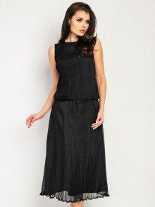 Foggy Dámské šaty FG55_BLACK
