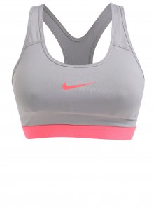 Šedá dámská sportovní podprsenka Nike