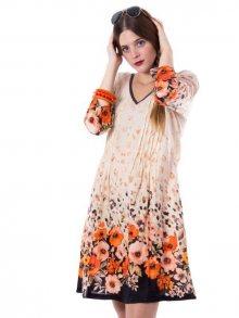 Ayfee Dámské šaty 510_CAMANIMAL33_BROWN\n\n
