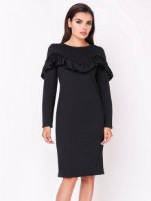 Naoko Dámské šaty AT122_BLACK