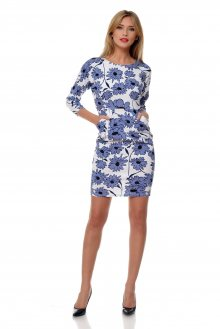 LaRue Dámské šaty L37_blue & white\n\n