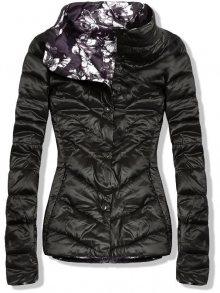 Černá oboustranná jarní bunda