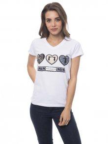 Trussardi Collection Dámské tričko D34TRC10029_Bianco/White