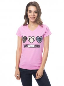 Trussardi Collection Dámské tričko D34TRC10029_Rosa/Pink