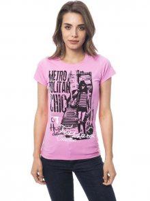 Trussardi Collection Dámské tričko D34TRC10032_Rosa/Pink